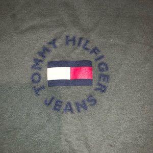 Tommy Hilfiger Shirts - Vintage Tommy Hilfiger T-shirt spell out bug flag
